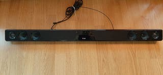 Barra de sonido LG, con entrada USB