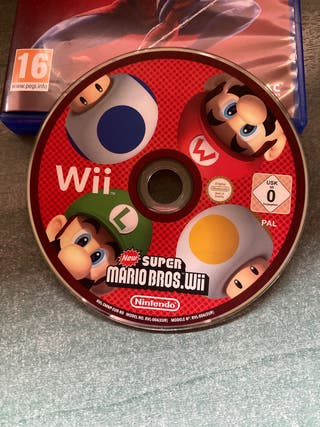 New Super Mario Bros Wii sin caja