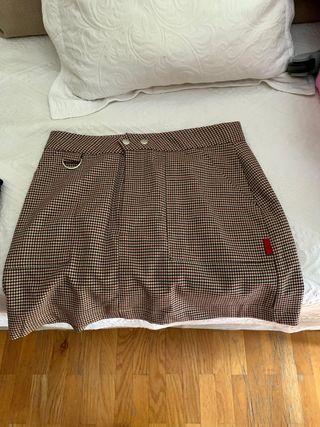 Falda de cuadros