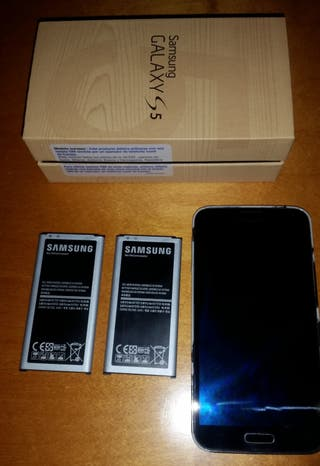 Smartphone Samsung Galaxy S5, 2 baterias