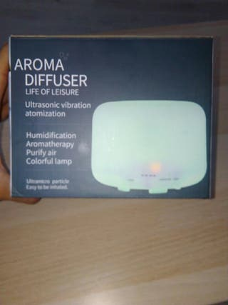 Humidificador aromaterapia