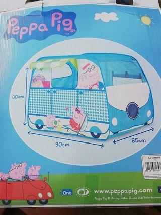 Furgo-casita de tela de Peppa Pig