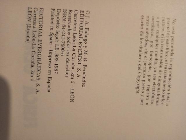 Libro física general. Editorial Everest