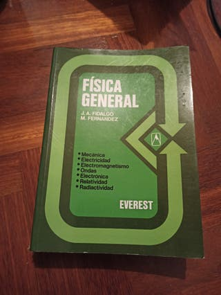 Libro física general. Editorial Everest