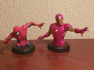 MARVEL FIGURAS SPIDERMAN - IRON MAN