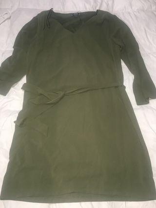 Vestido verde oscuro nuevo talla L