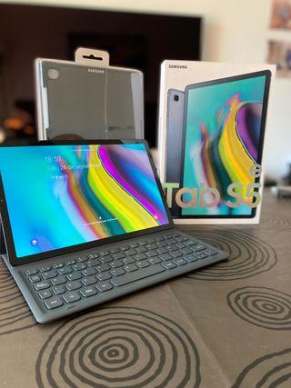 Tablet Samsung Galaxy Tab S5e+Teclado+Funda