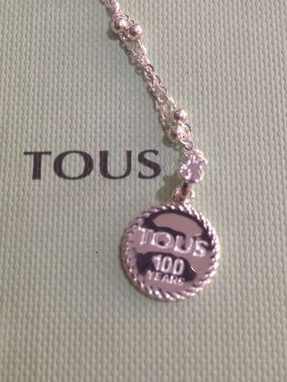 Colgante Tous 100 años en plata ( único)