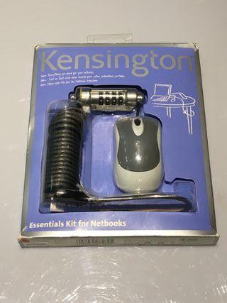 KENSINGTON Kit Candado + raton miniportatil