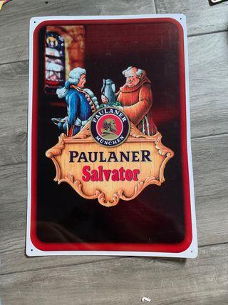 Chapa decorativa Paulaner