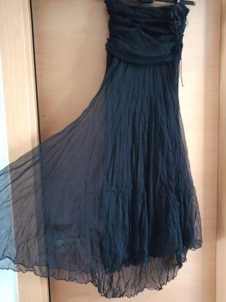vestido de fiesta+estola