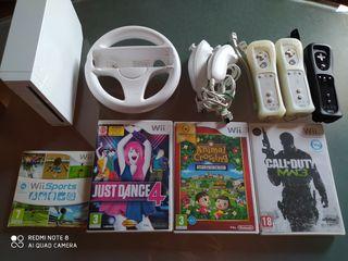 Nintendo Wii y juegos de regalo