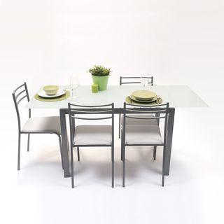 Conjunto mesa cocina con sillas