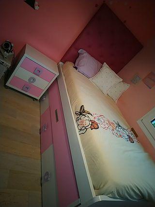 habitación juvenil (cama+mesita)