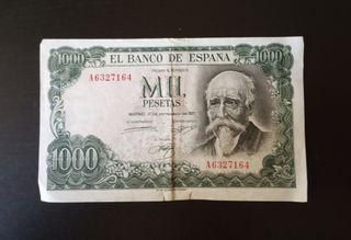 1971- Billete mil pesetas