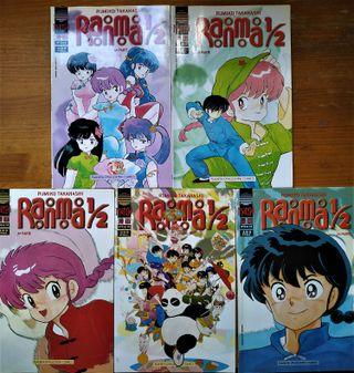 Lote de comics Ranma 1/2 (grapa).