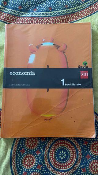Libro de economía 1º de Bachiller