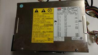 Fuente alimentación 200W para placa base PC AT
