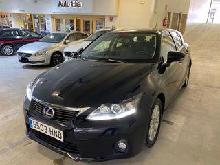 Lexus CT 200h 73.000kms revisiones en lexus