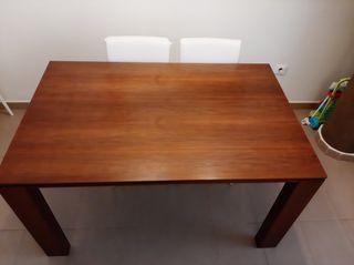 Mesa salón extensible y mesa de centro elevable