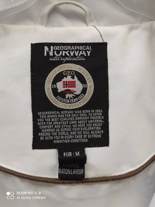 Chaqueta Geographical Norway para nieve