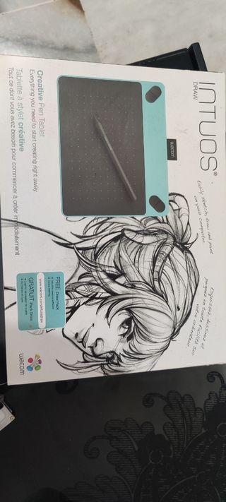 tableta digitalizadora dibujo