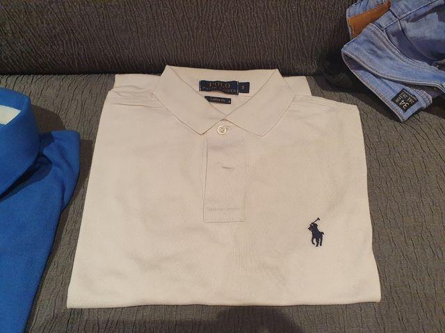 Pack de 4 Polos Marca el Ganso y Ralph Lauren