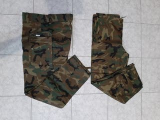 Pantalón de caza y pantalón impermeable
