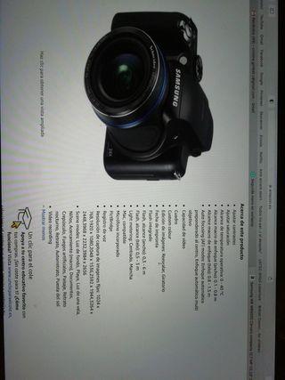 Cámara semi reflex Samsung WB5000