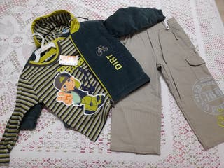 Chaqueta, pantalón y Jersey