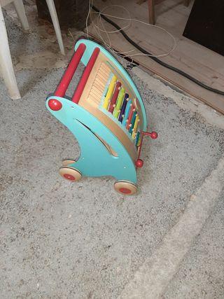 carrito musical janod