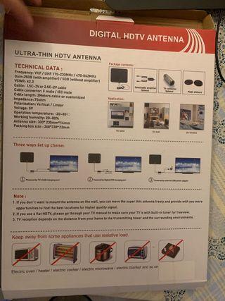 Antena digital portátil