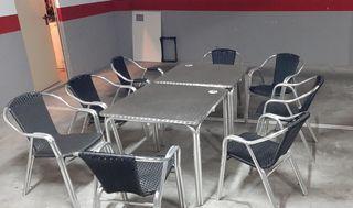 mesa y silla cada juego 75eu