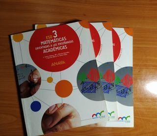 Matemáticas orientadas a la enseñanza académica 3