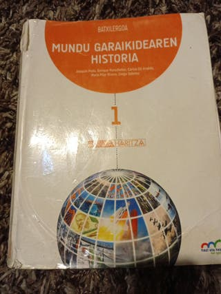 Libro Historia 1° bachillerato euskera