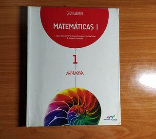 Matemáticas I Bachillerato