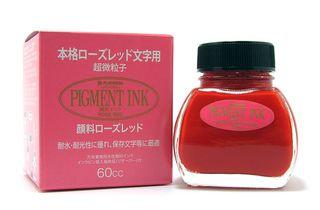 Tinta Platinum Pigment Rose-Red ink tintero 60 ml