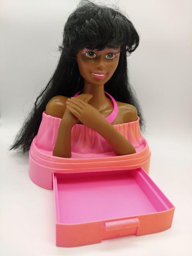 Barbie Black Totally Hair Styling Head