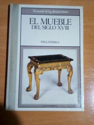 El mueble del siglo XVIII, Inglaterra, libro