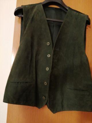 Chaleco color verde