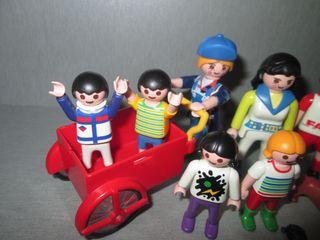 Playmobil. Lote Figuras Adultas y Niños.