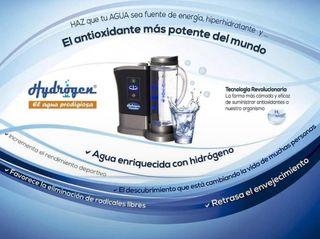 Hydrogenador de agua + bomba de Osmosis