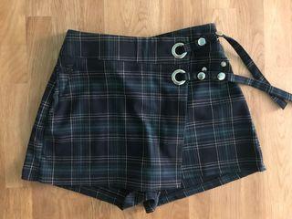 Falda pantalon de cuadros
