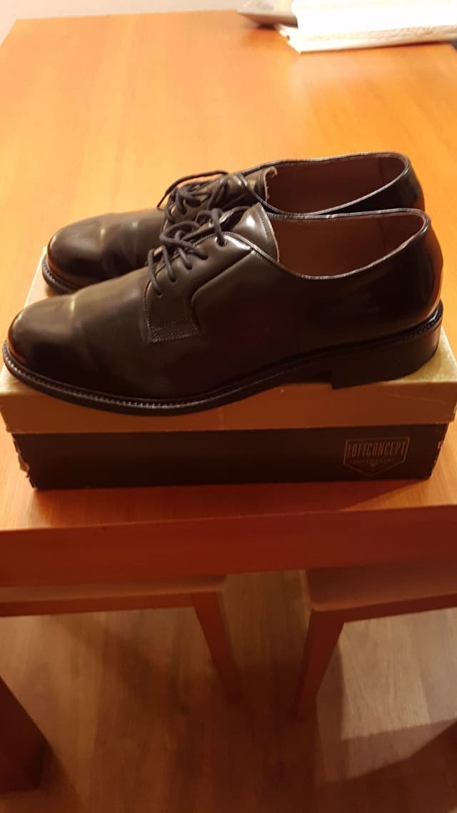Zapatos de charol n.44