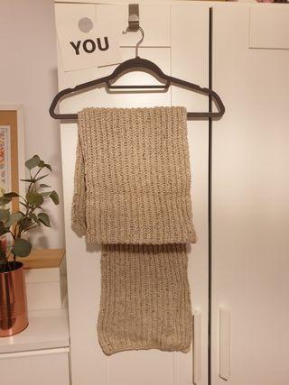 Bufanda beige Hand Made
