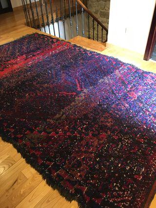 Preciosa alfombra de excelente calidad