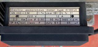 Motor para compresor 220 V