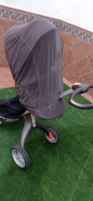 carro y silla de paseo stokke xplory