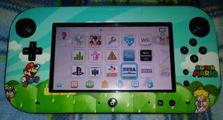Wii U + Sd de 64Gb y HDD 320Gb