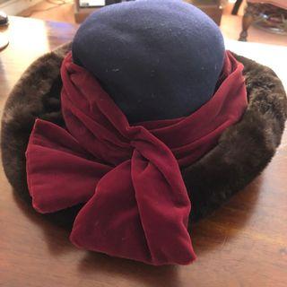 Vintage Rada Accessori 100% Wool Autumn Hat
